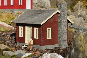 62716 RIVER CITY TOMMY'S CABIN BUILT-UP BUILDING