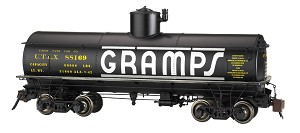 Bachmann Spectrum GRAMPS #88169 - FRAMELESS TANK CAR