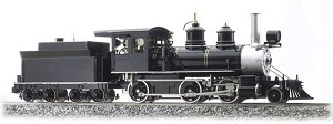 Accucraft 2-6-0 Live Steam Mogul black unlettered