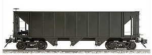 AM20-301 Accucraft/AMS Narrow Gauge 3 Bay Hopper- Black/unlettered