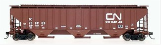 AML Canadian National 3 Bay Covered Hopper Car