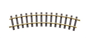 Brass 20 ft. Dia Curve Track  16 pcs