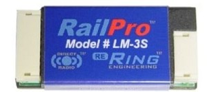 Railpro LM-3S HO Scale Locomotive Module with Sound