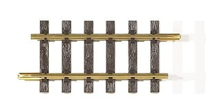 "Piko Brass Straight Track 160mm  6.3"" 1 piece"