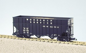 USA Trains Ultimate Series New Haven Wood Chip Hopper Car