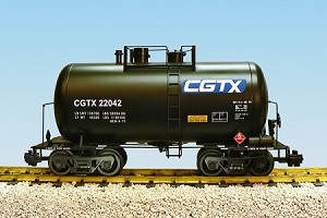 USA Trains Ultimate Series CGTX  29' Beer Can Tank Car