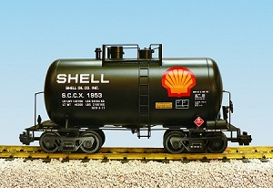 USA Trains Ultimate Series Shell 29' Beer Can Tank Car