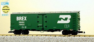 USA Trains Ultimate Series Burlington Northern 40' Reefer
