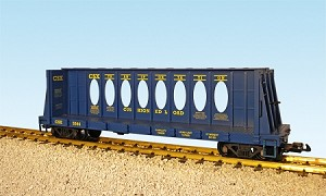 CSX  Center Beam Flat Car