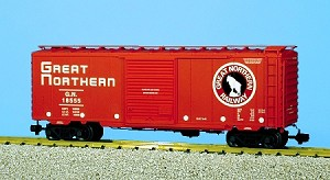 USA Trains Ultimate Series Great Northern 40' Boxcar