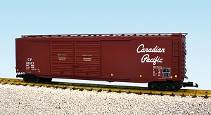 USA Trains Ultimate Series Canadian Pacific  50'  Script double door boxcar
