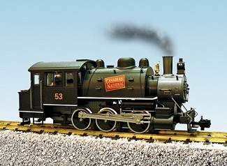 Canadian National  0-6-0 Dockside with sound. Ultimate Series - Die-Cast Metal