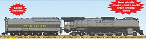 UP FEF3 Northern #8444 Greyhound Yellow Locomotive with sound