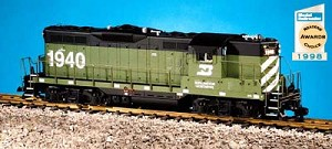 GP9  Burlington Northern