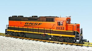 GP38-2 BNSF........SPEED LETTERING