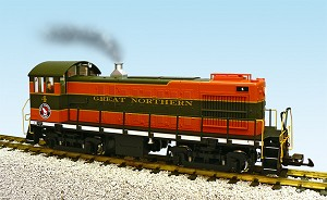 Alco S4 Great Northern switcher