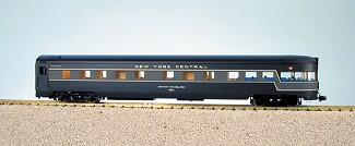 USA Trains Ultimate Series New York Central 1/29 scale Aluminum Observation Coach