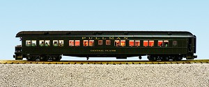 "USA Trains Ultimate Series NYC 20th Century Limited Heavyweight Observation Car ""Central Plains"""