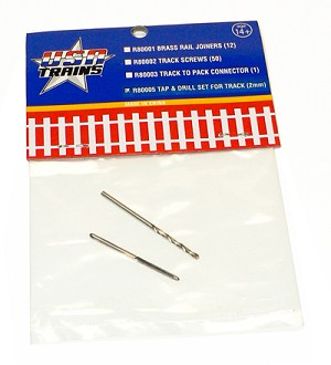 USA Trains Tap & Drill Set for Track