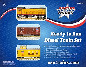 USA Trains NYC S4 Diesel Freight Set