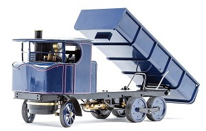 "3/4"" Scale Sentinel DG6 Lorry, Live Steam with radio control"